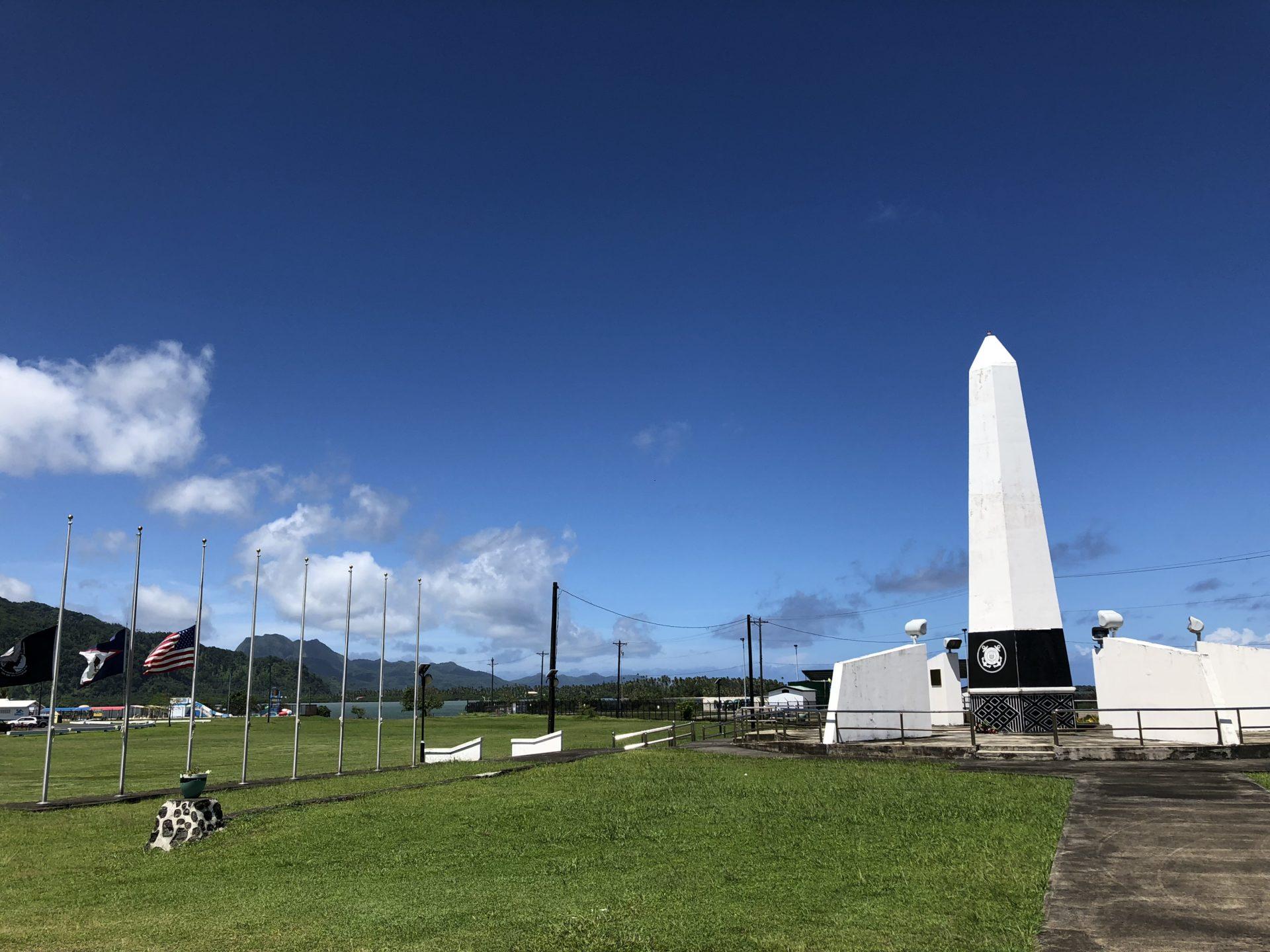 Korean War Memorials - Pago Pago