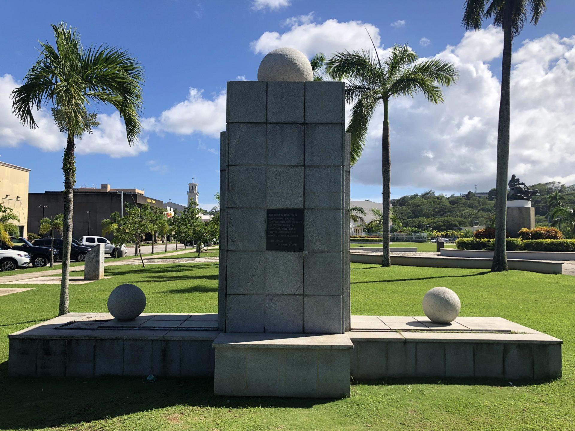 Korean War Memorials - Hagåtña