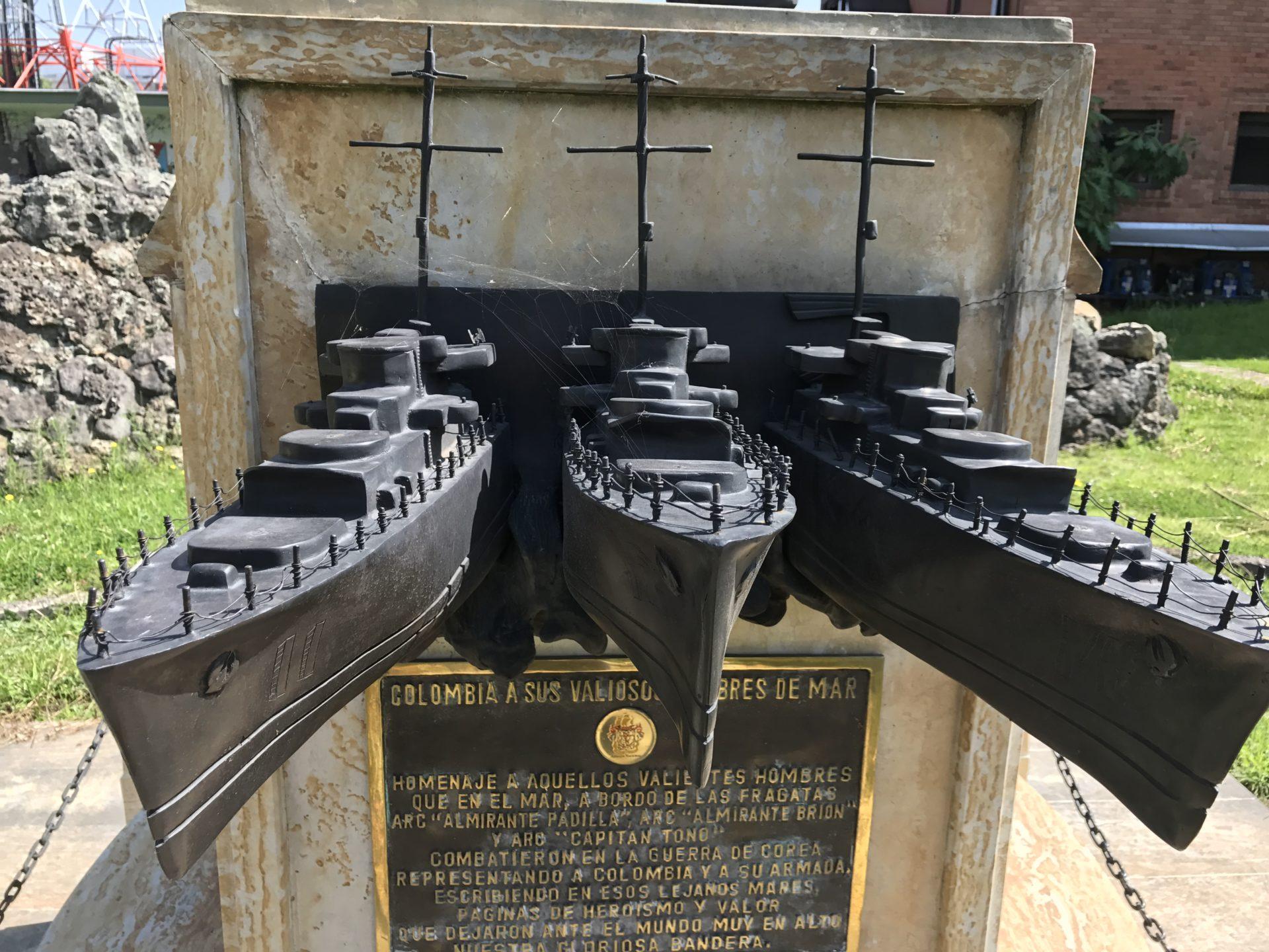Korean War Memorials - Bogota - Colombia