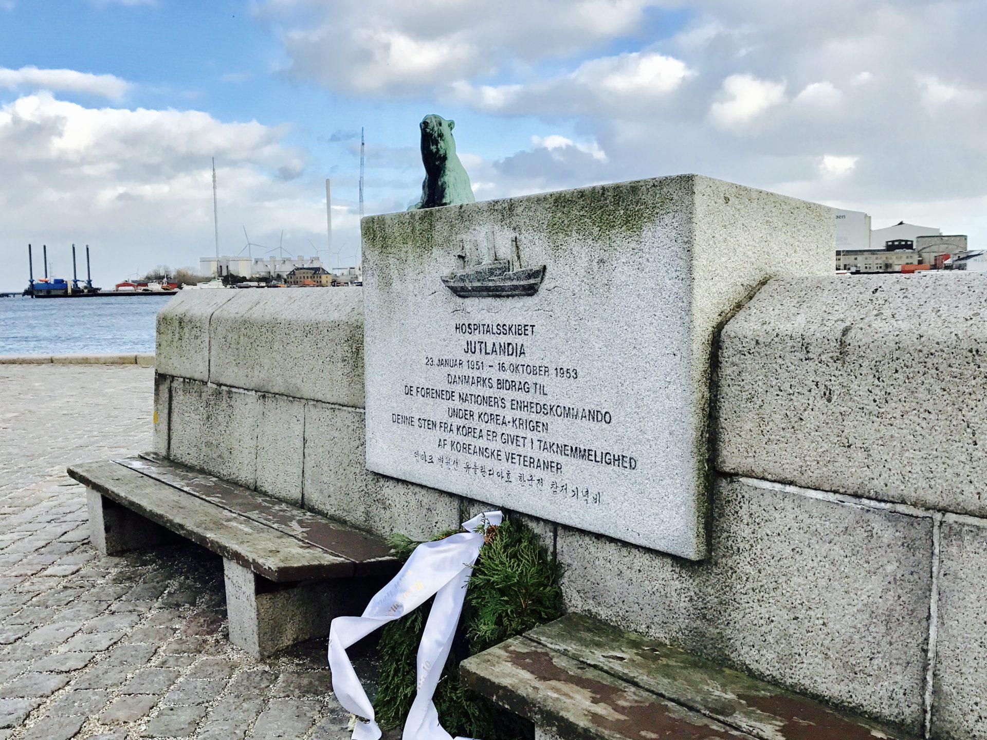 Korean War Memorials - Copenhagen - Denmark