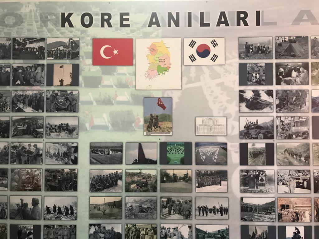 Korean War Memorials - Istanbul - Turkey