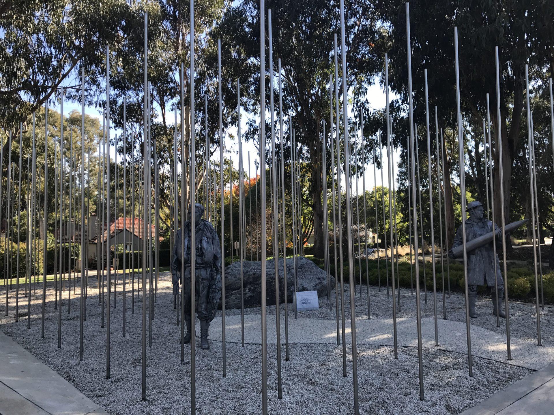 Korean War Memorials - Canberra - Australia