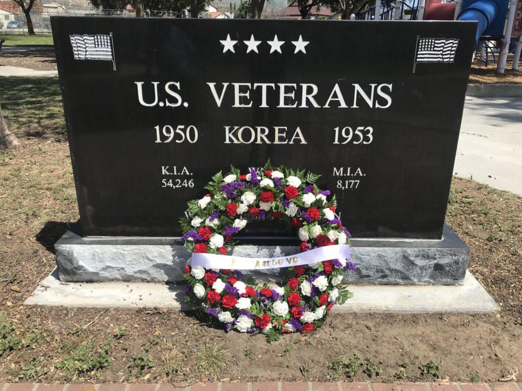 Korean War Memorials - Santa Paula