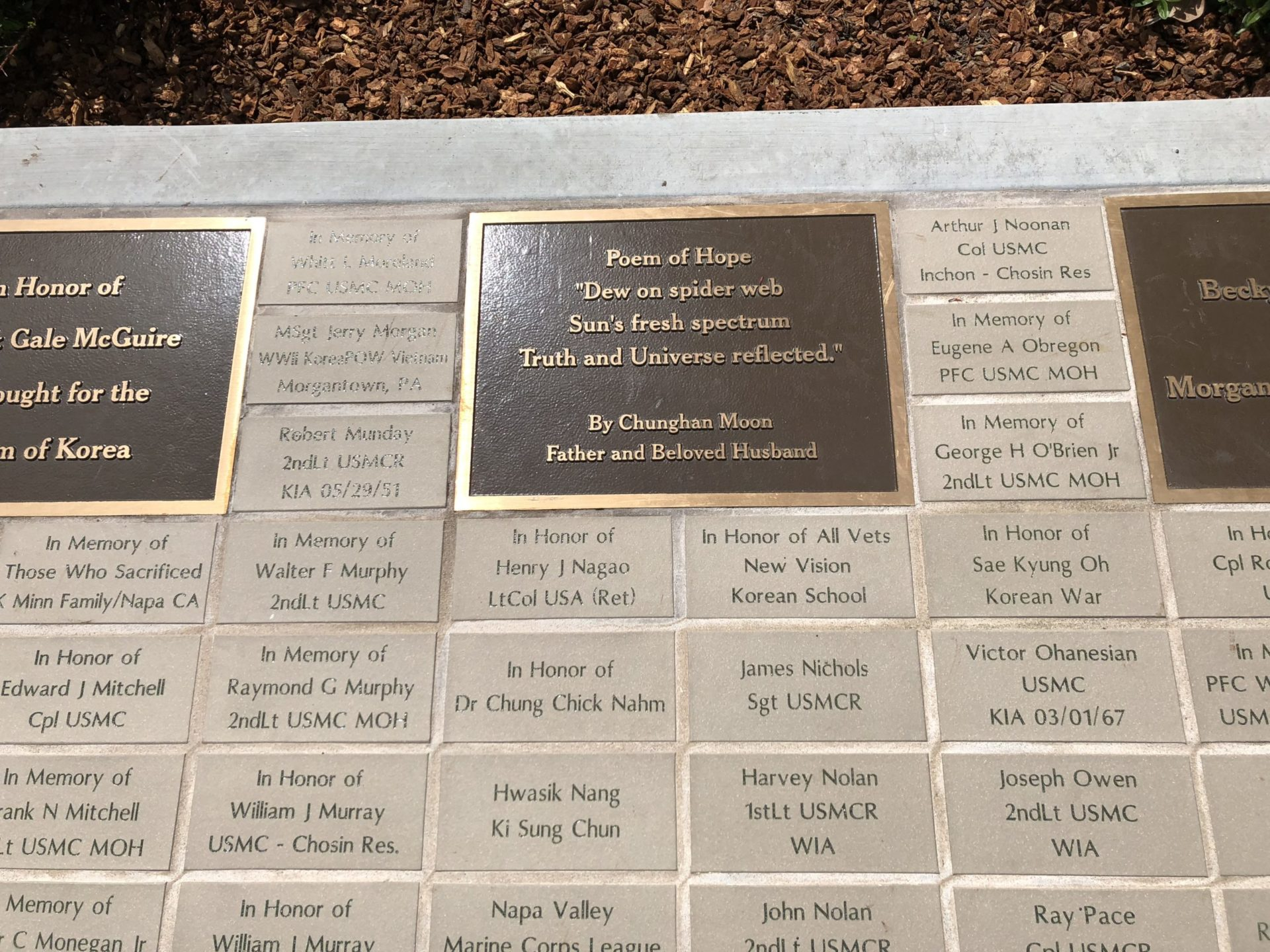 Korean War Memorials - San Francisco
