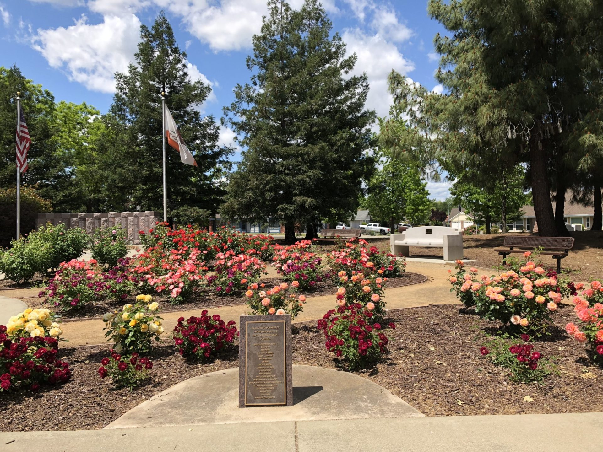 Korean War Memorials - Roseville