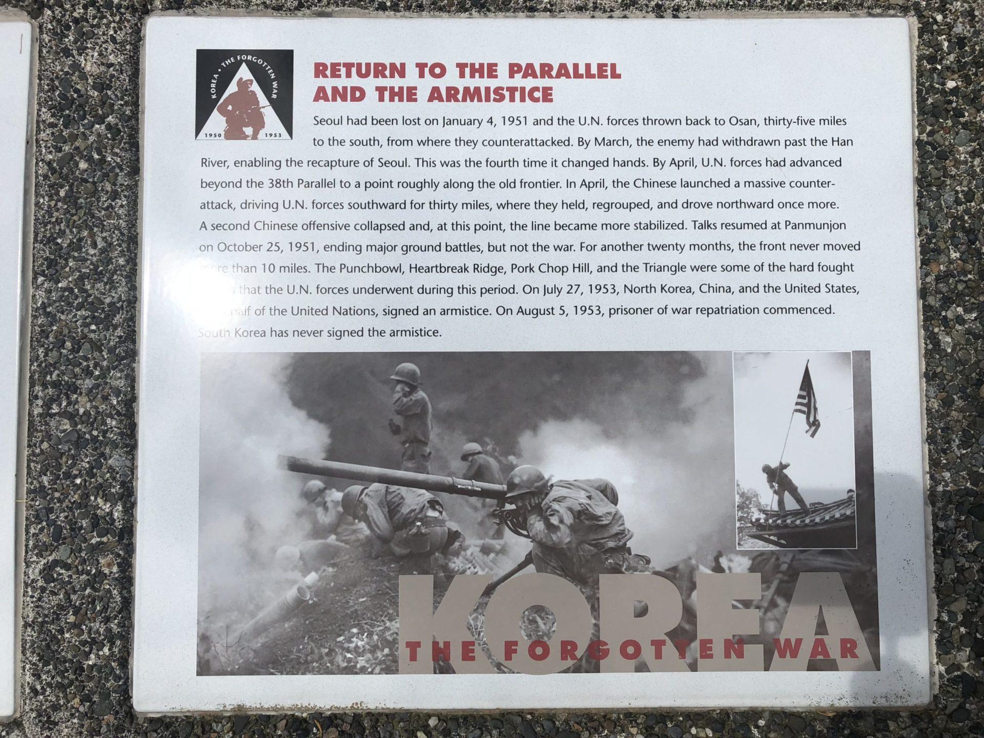 Korean War Memorials - Olympia