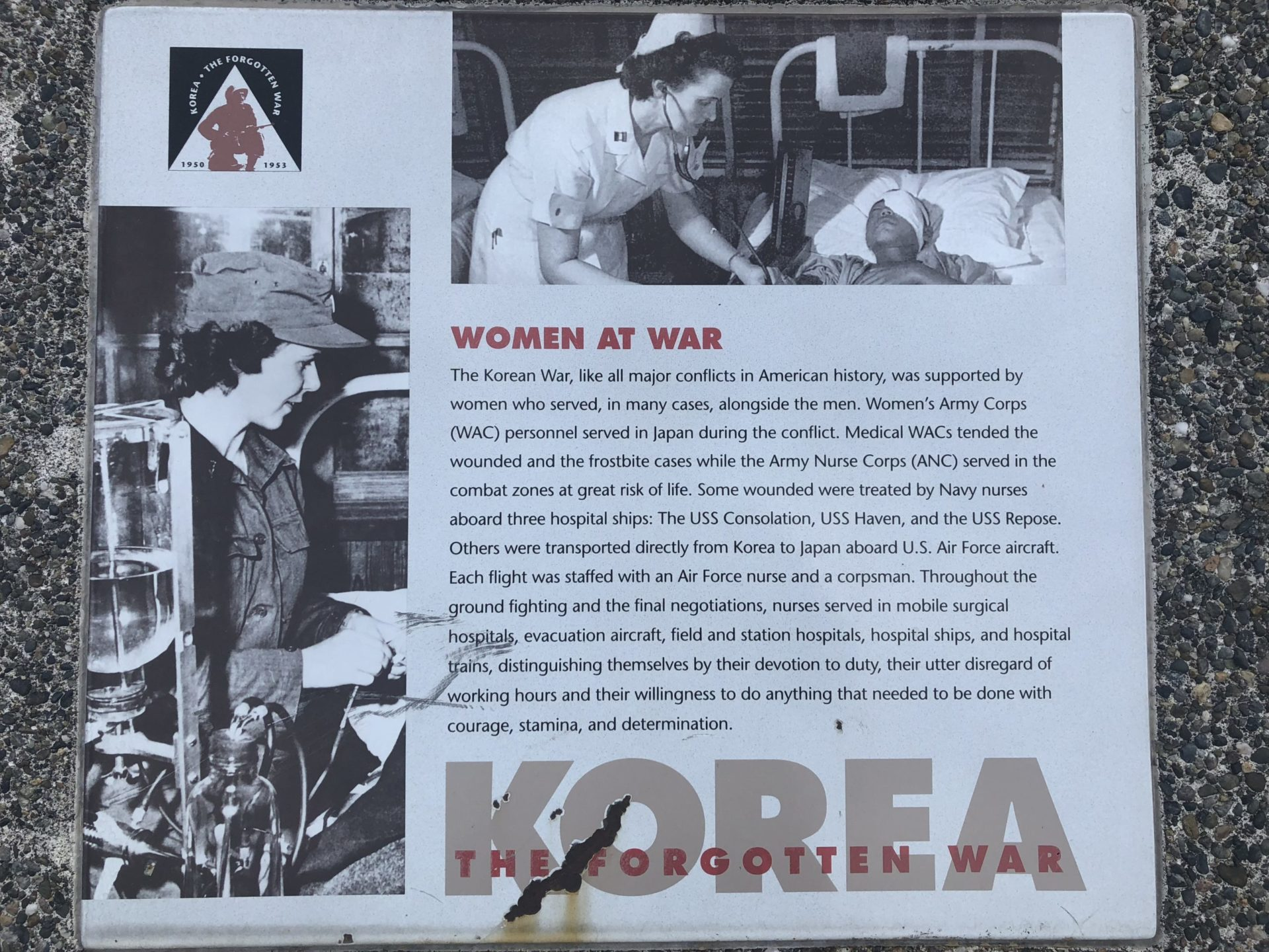 Korean War Memorials - Olympia