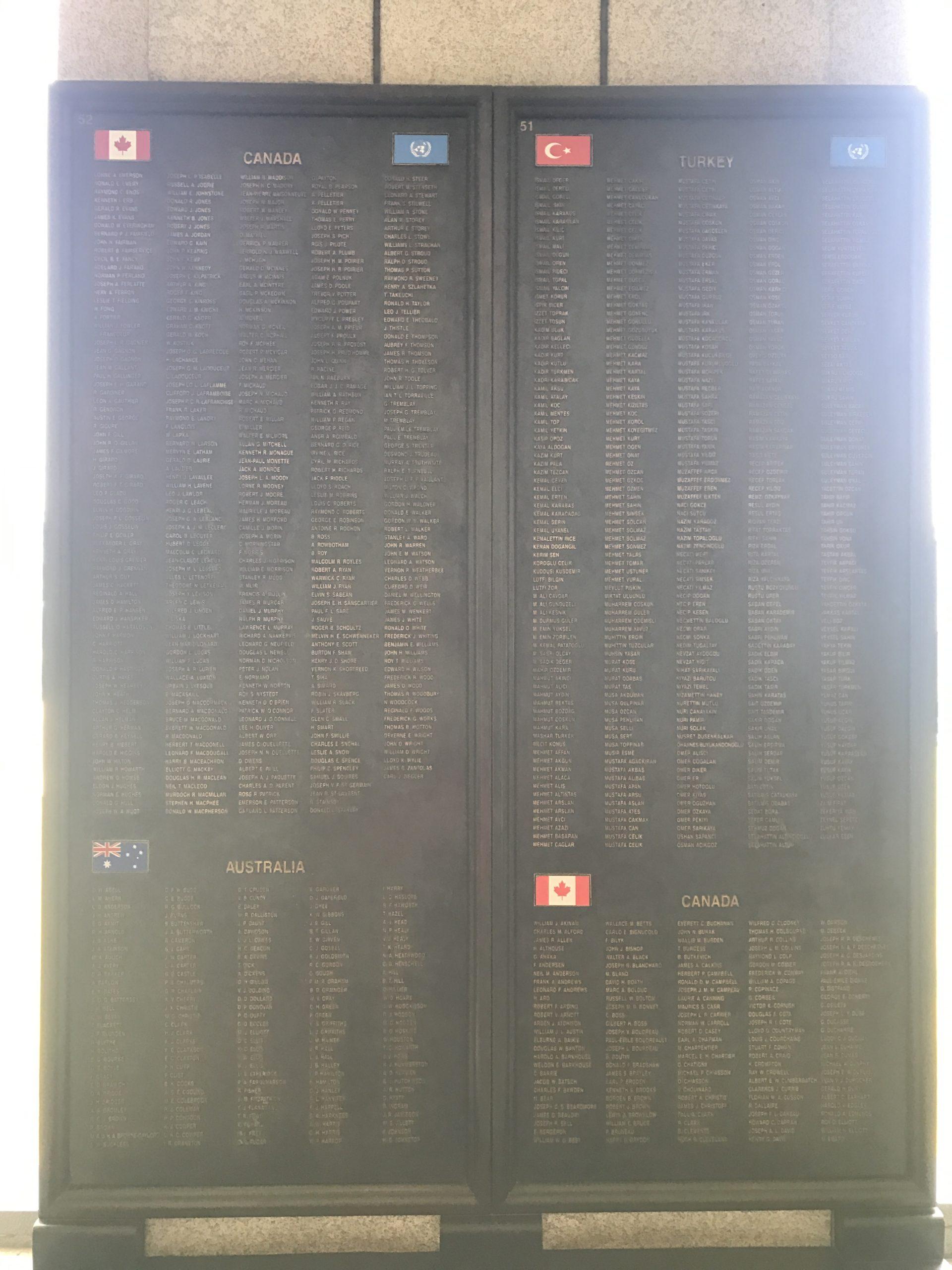 Korean War Memorials - Seoul - South Korea