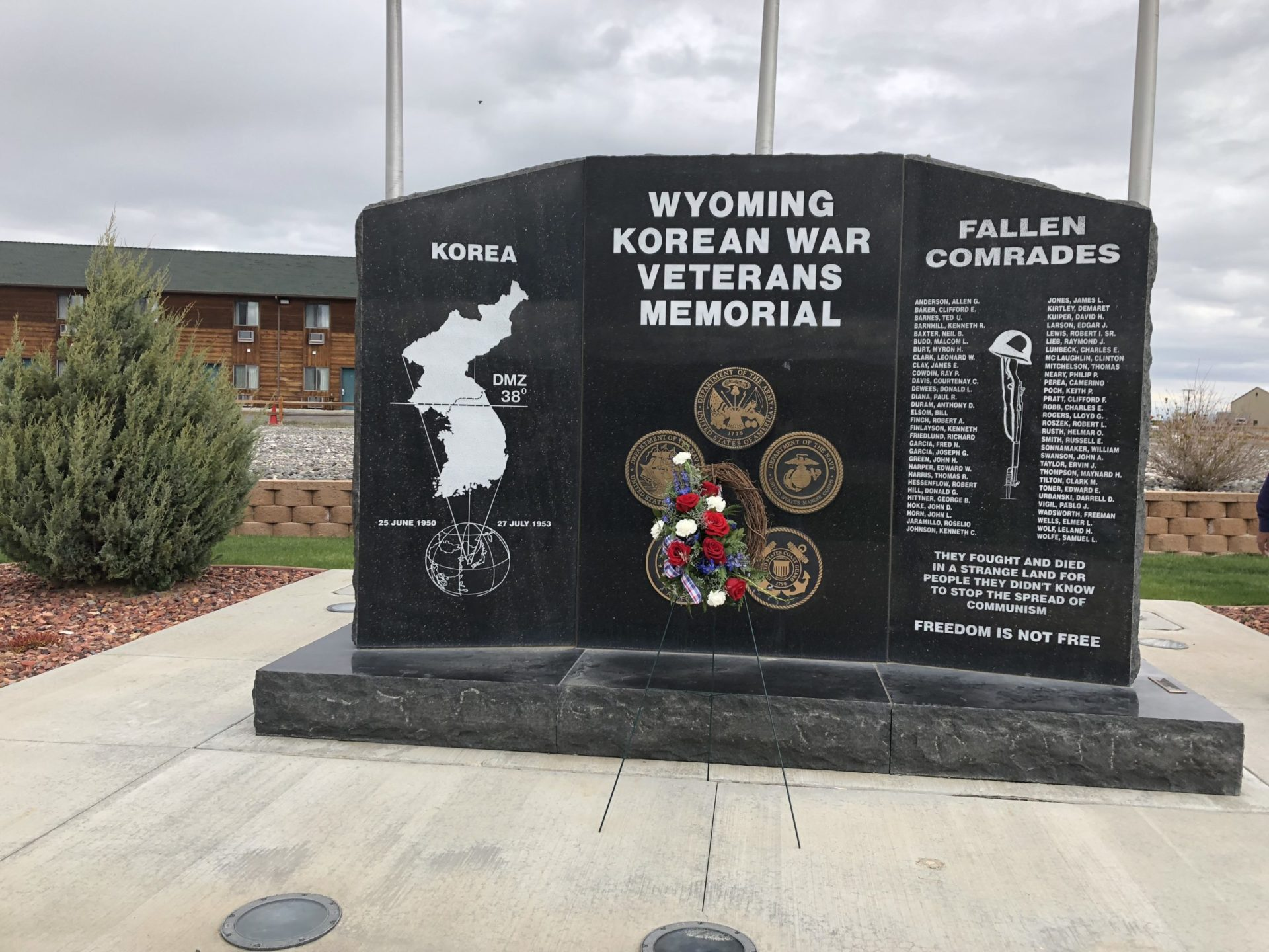 Korean War Memorials - Cody