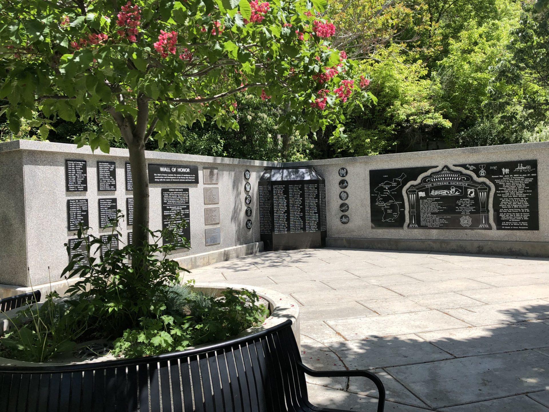 Korean War Memorials - Salt Lake City