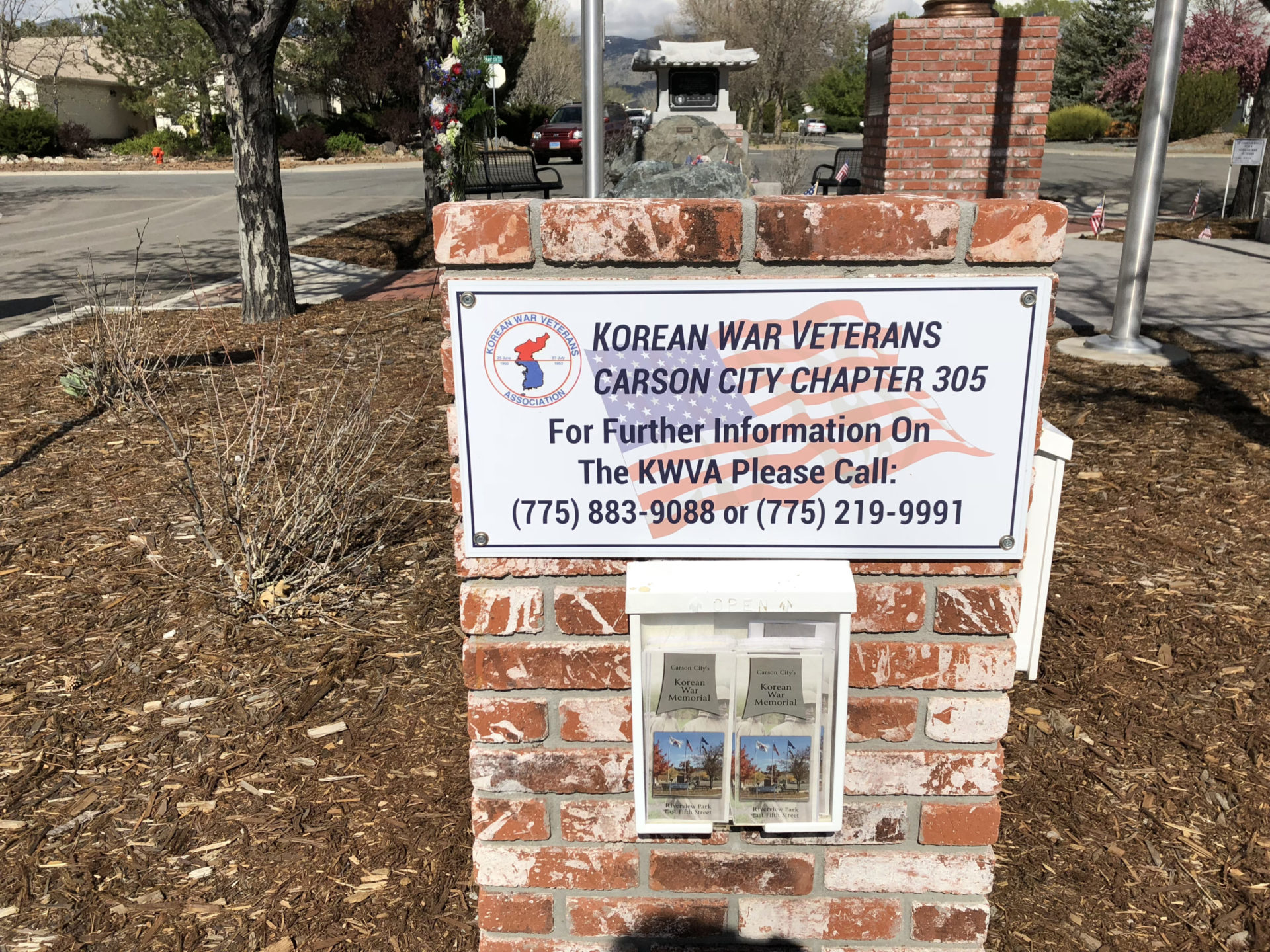Korean War Memorials - Carson City