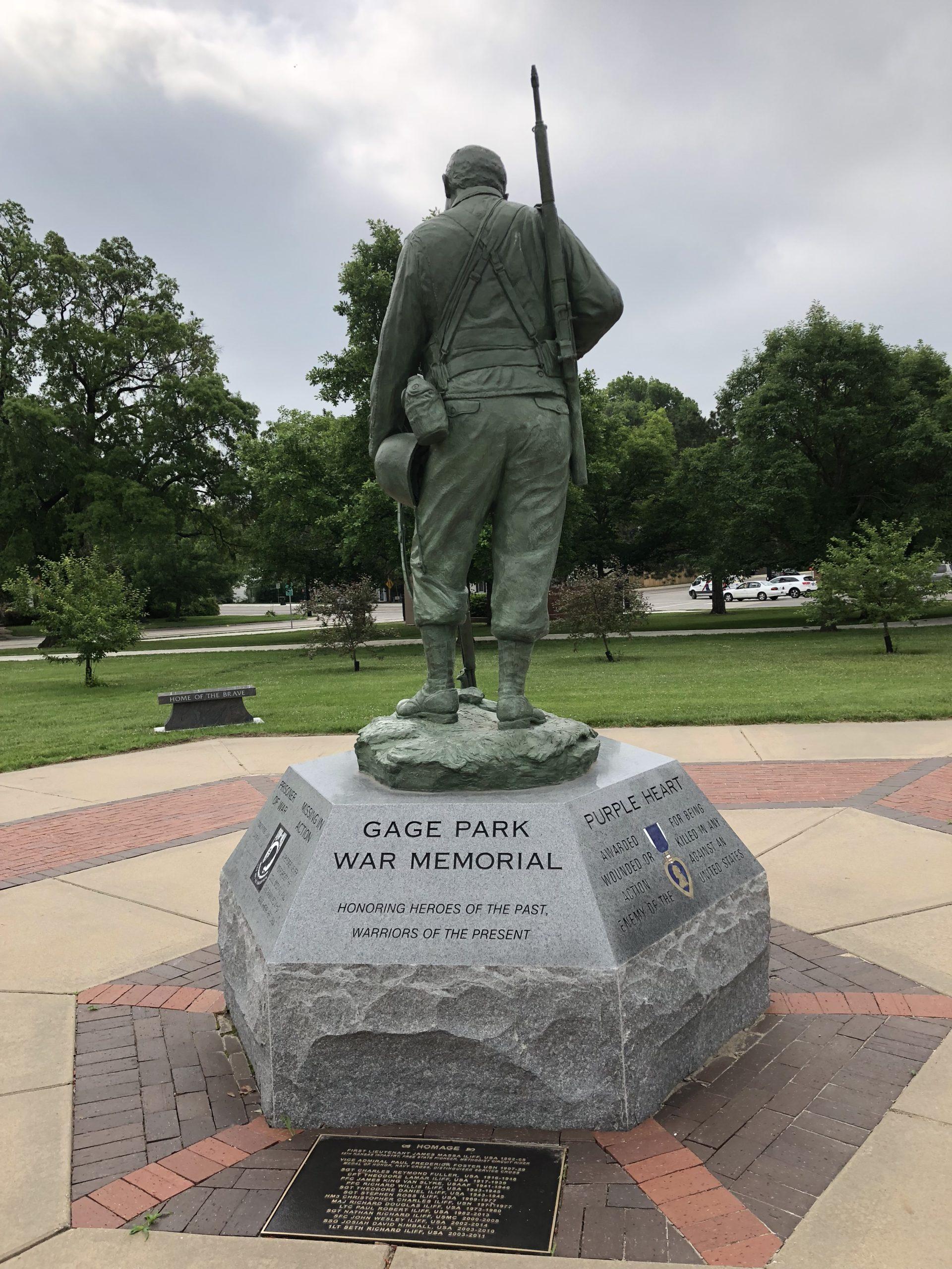 Korean War Memorials - Topeka