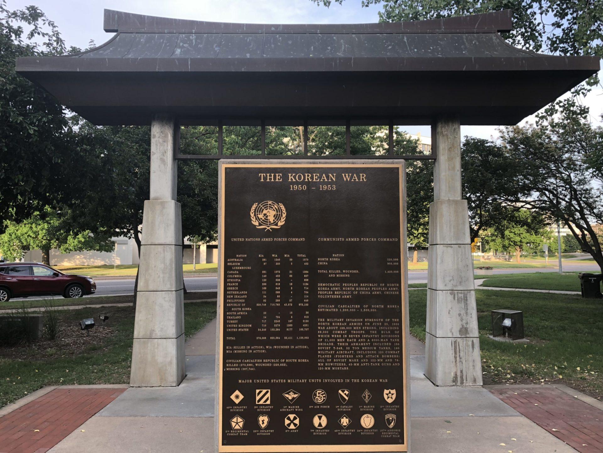 Korean War Memorials - Wichita