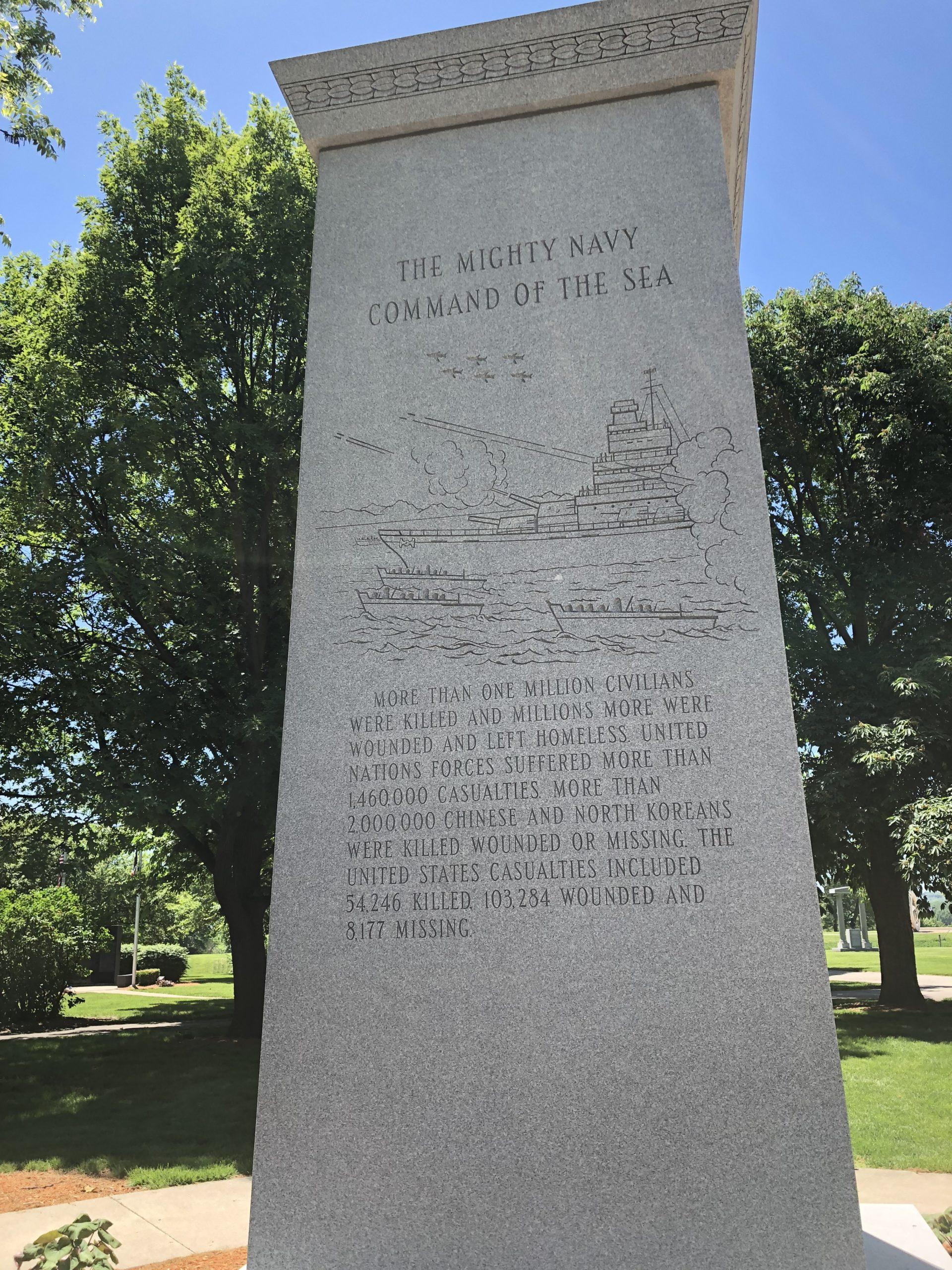 Korean War Memorials - Des Moines