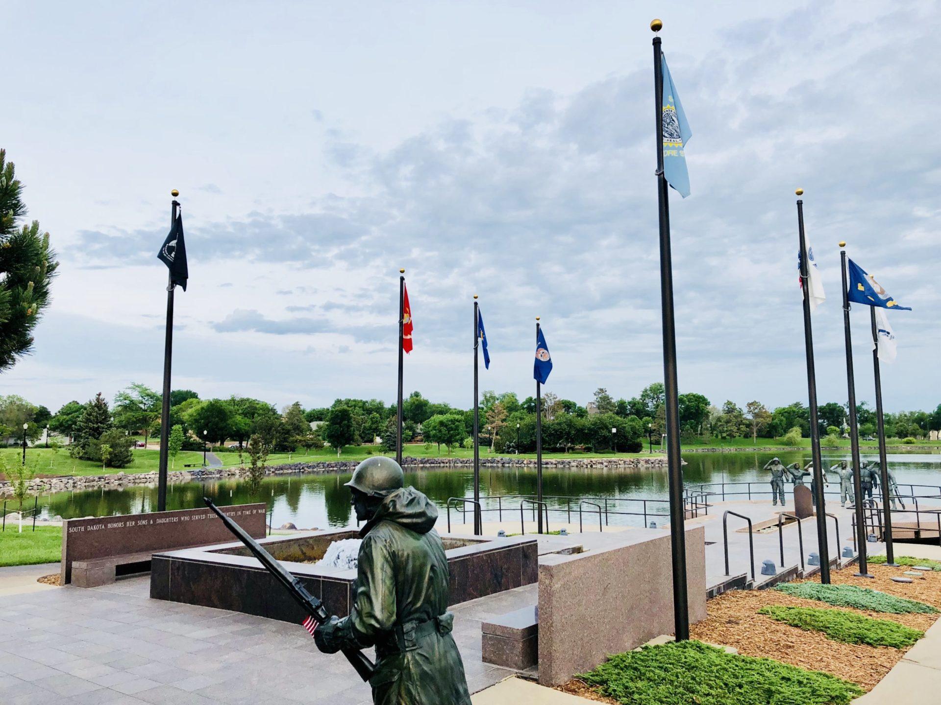 Korean War Memorials - Pierre