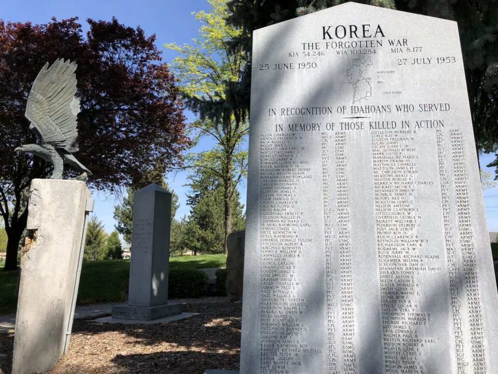 Korean War Memorials - Boise