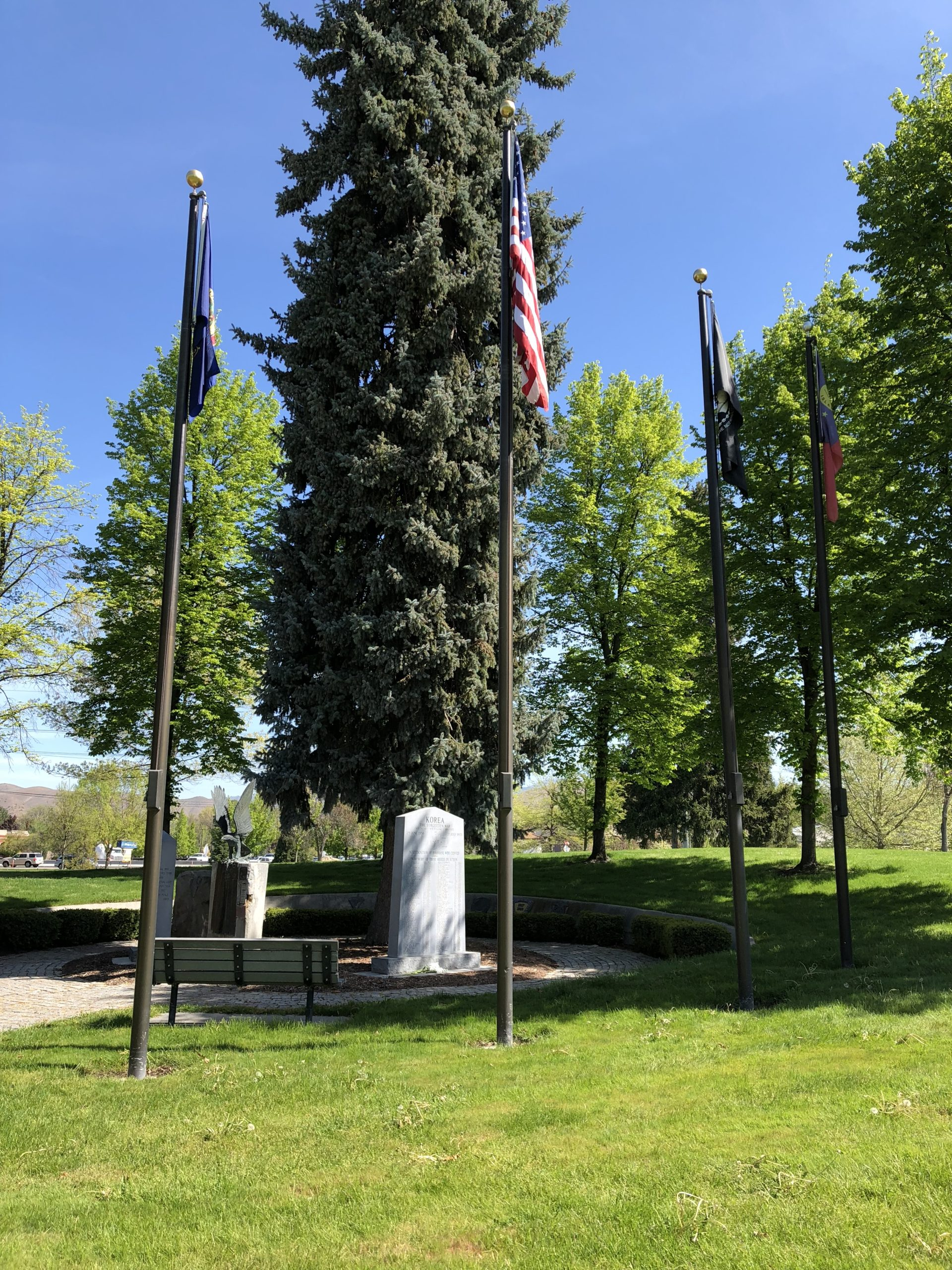 Korean War Memorials - Boise