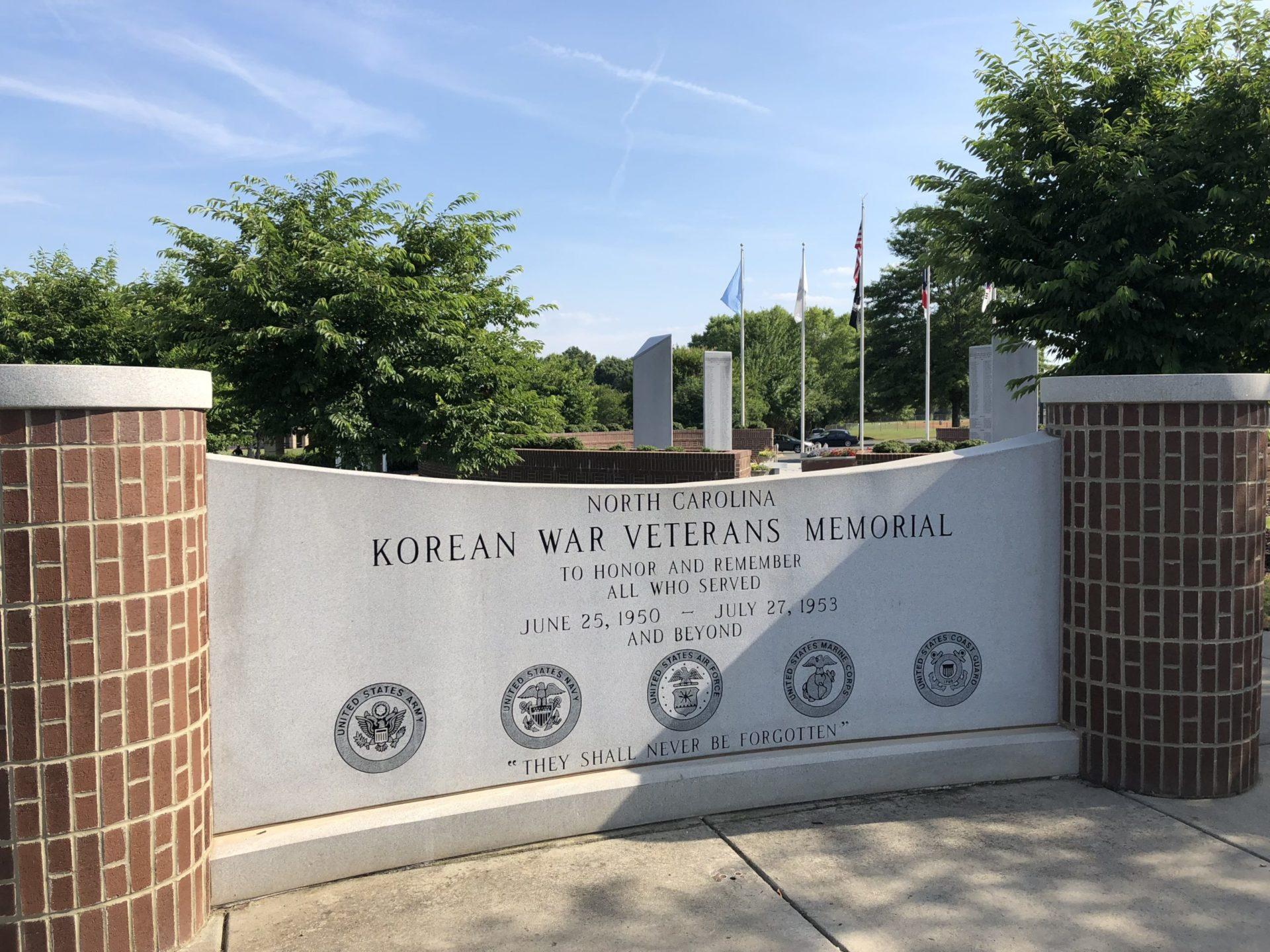 Korean War Memorials - Charlotte