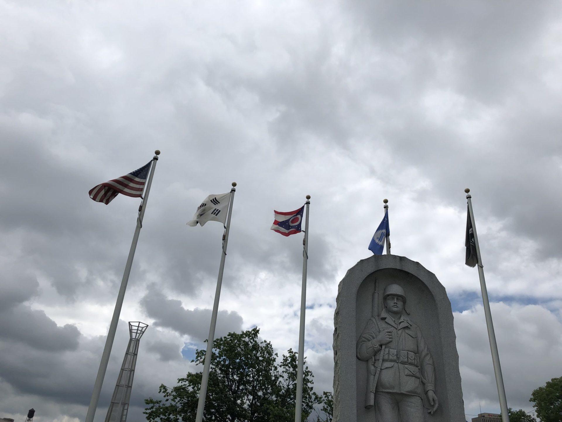Korean War Memorials - Dayton