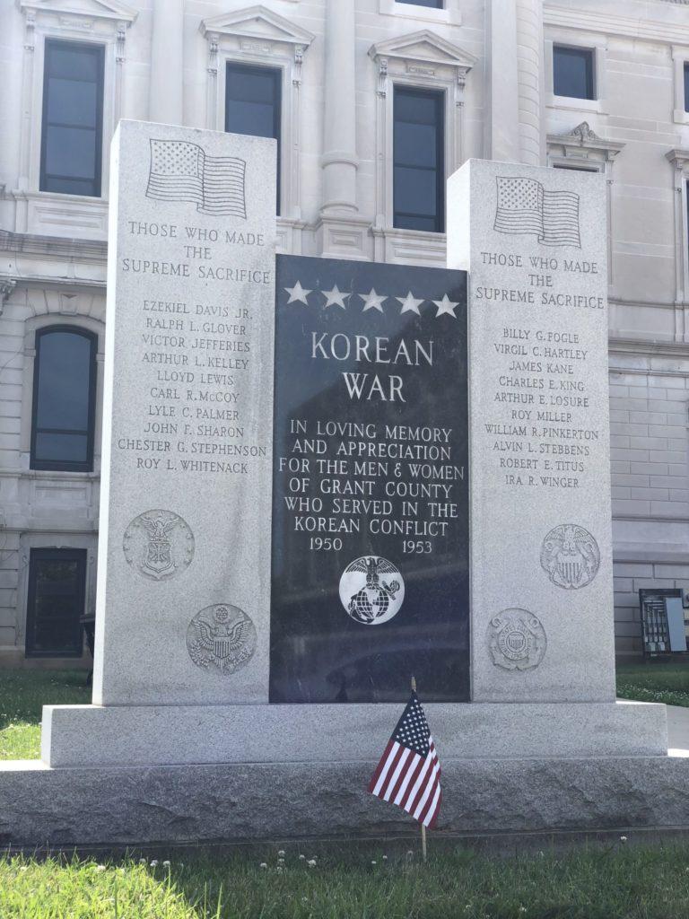 Korean War Memorials - Marion