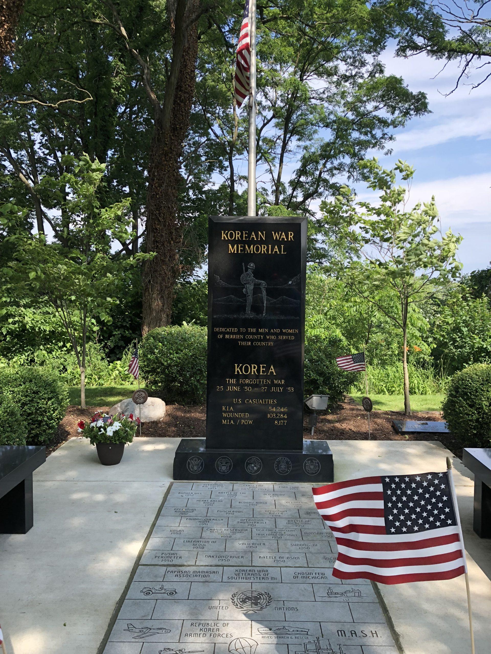 Korean War Memorials - Saint Joseph
