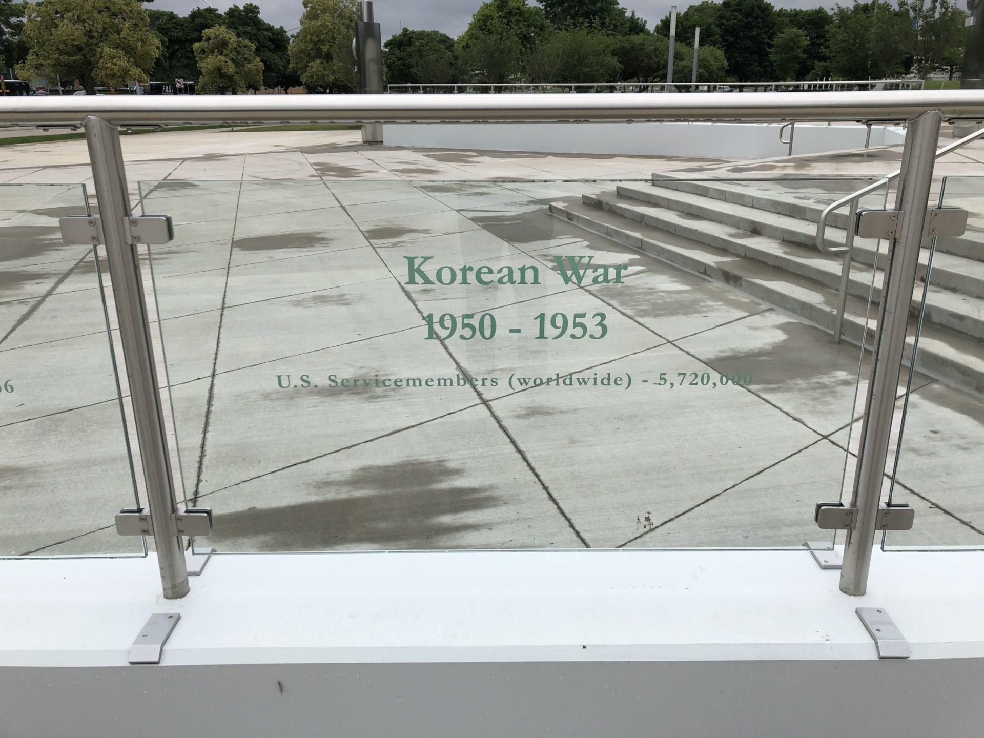 Korean War Memorials - Detroit