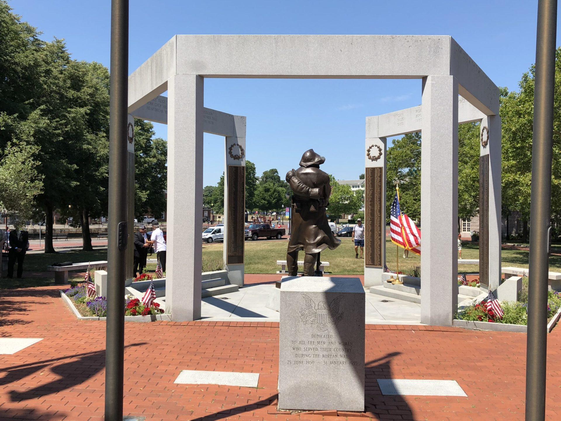Korean War Memorials - Boston