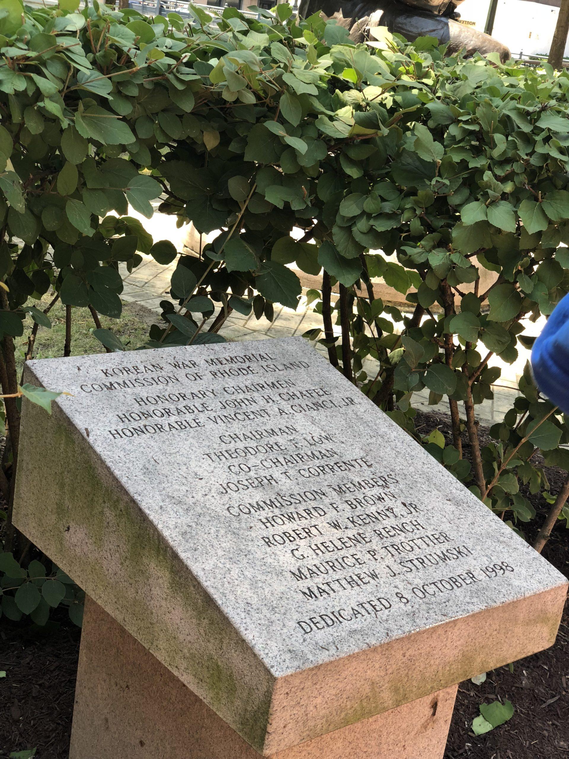 Korean War Memorials - Providence