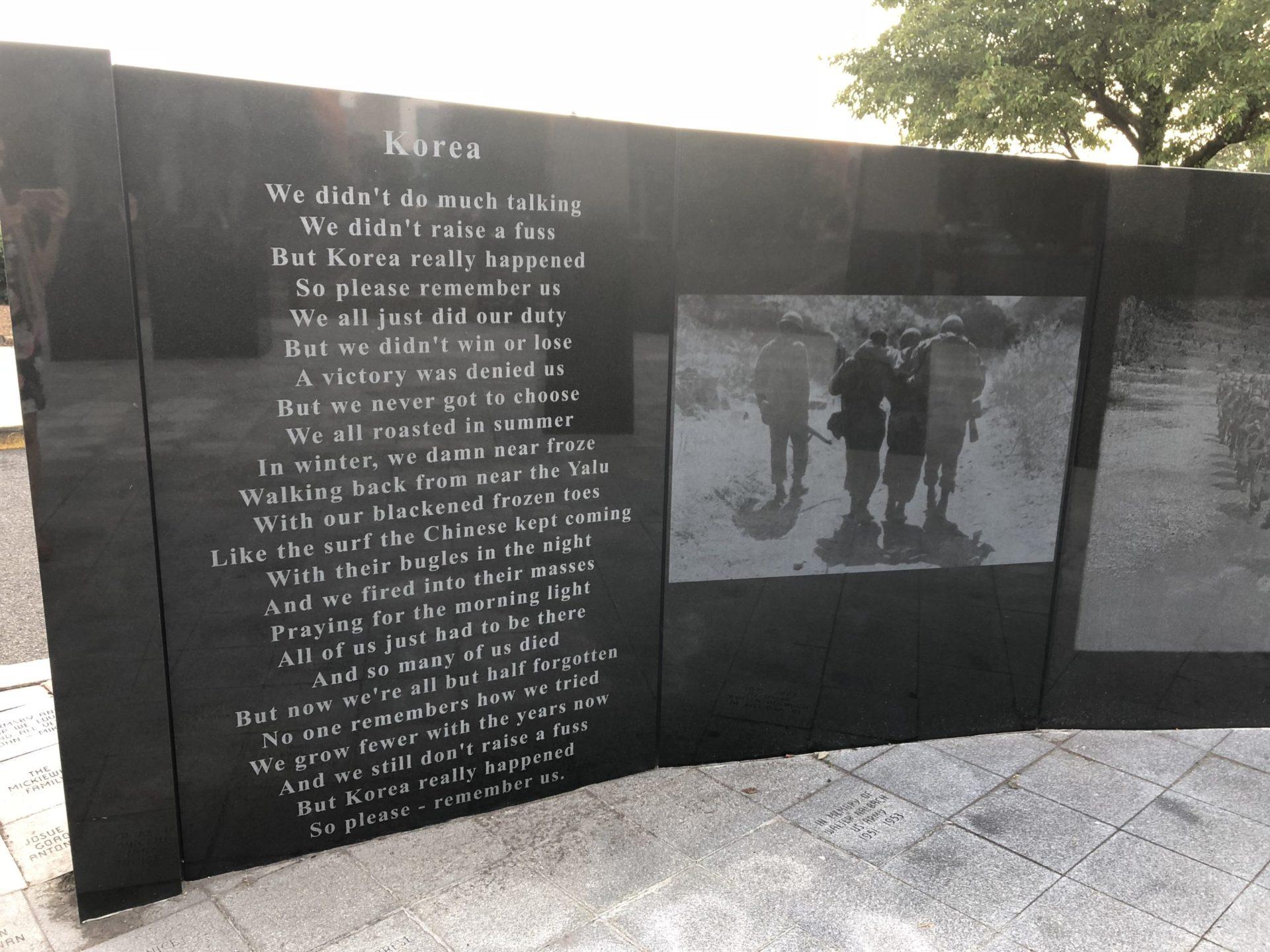 Korean War Memorials - Jersey City