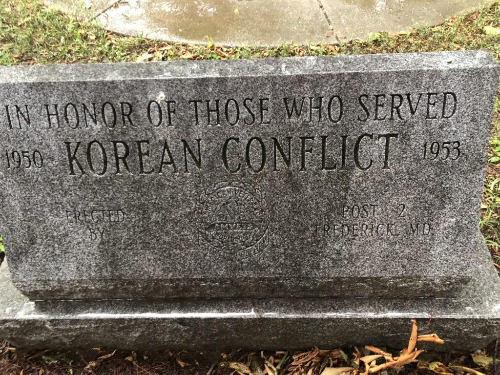 Korean War Memorials - Hagerstown