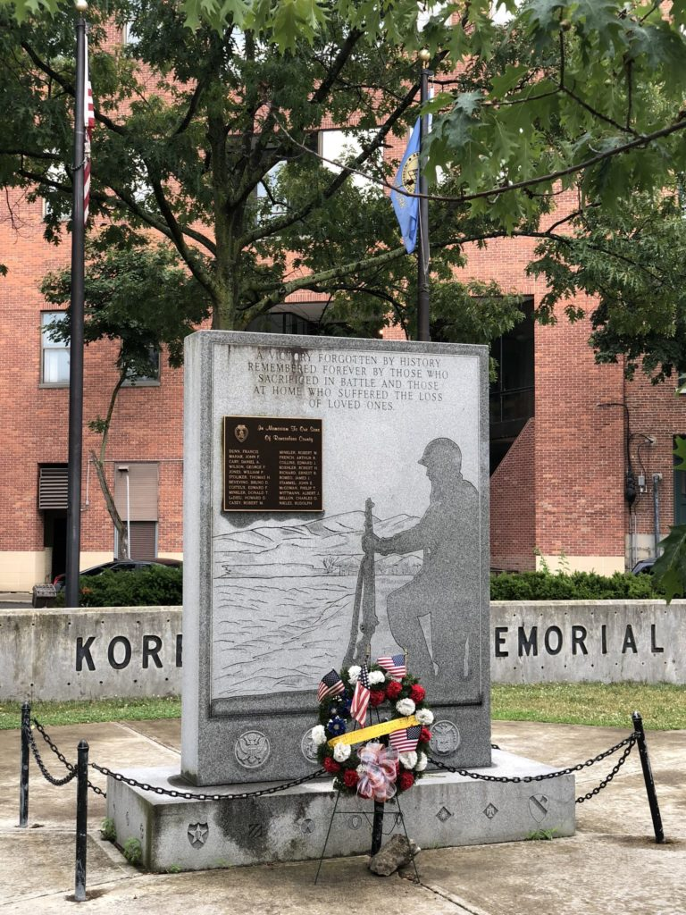 Korean War Memorials - Hudson