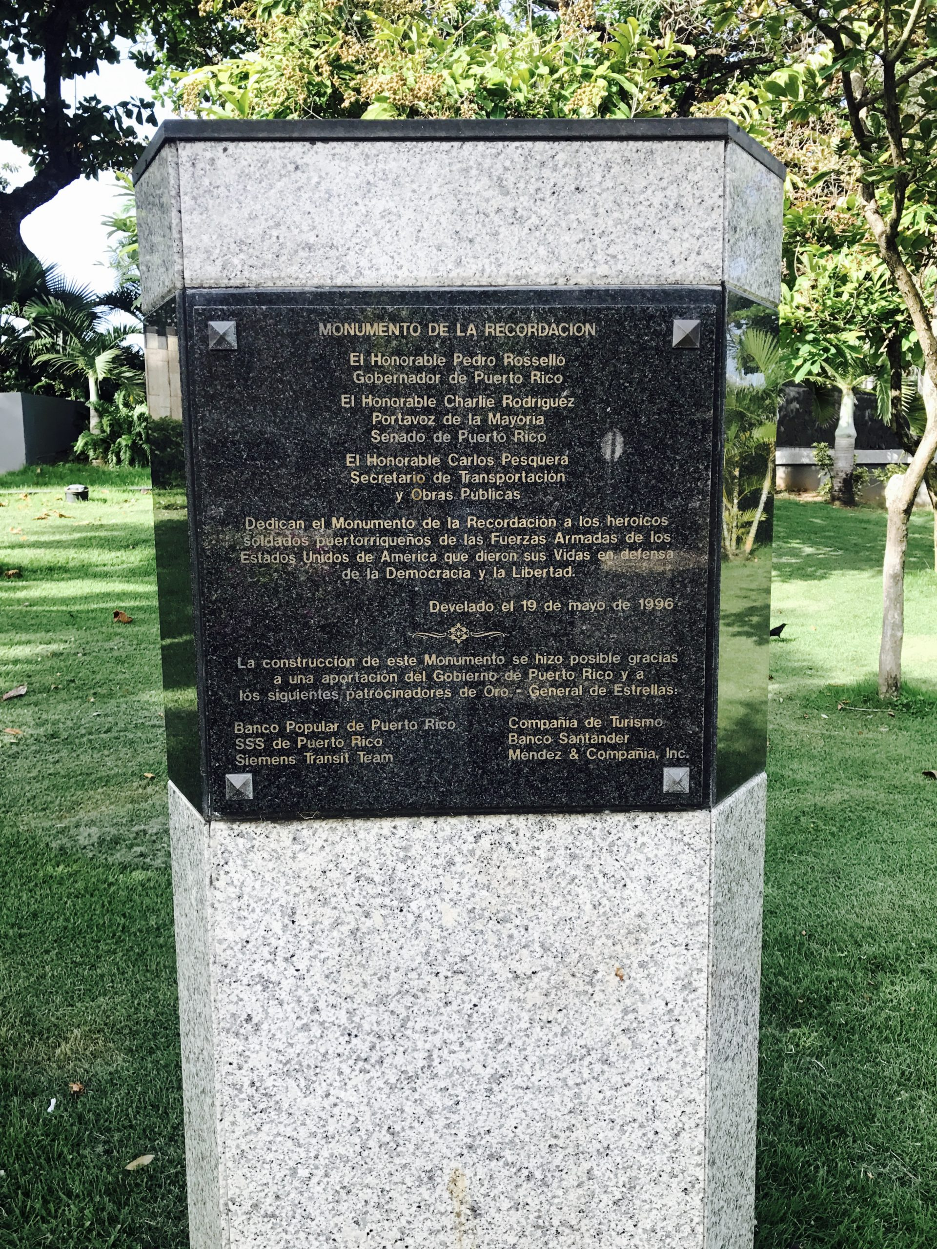 Korean War Memorials - San Juan