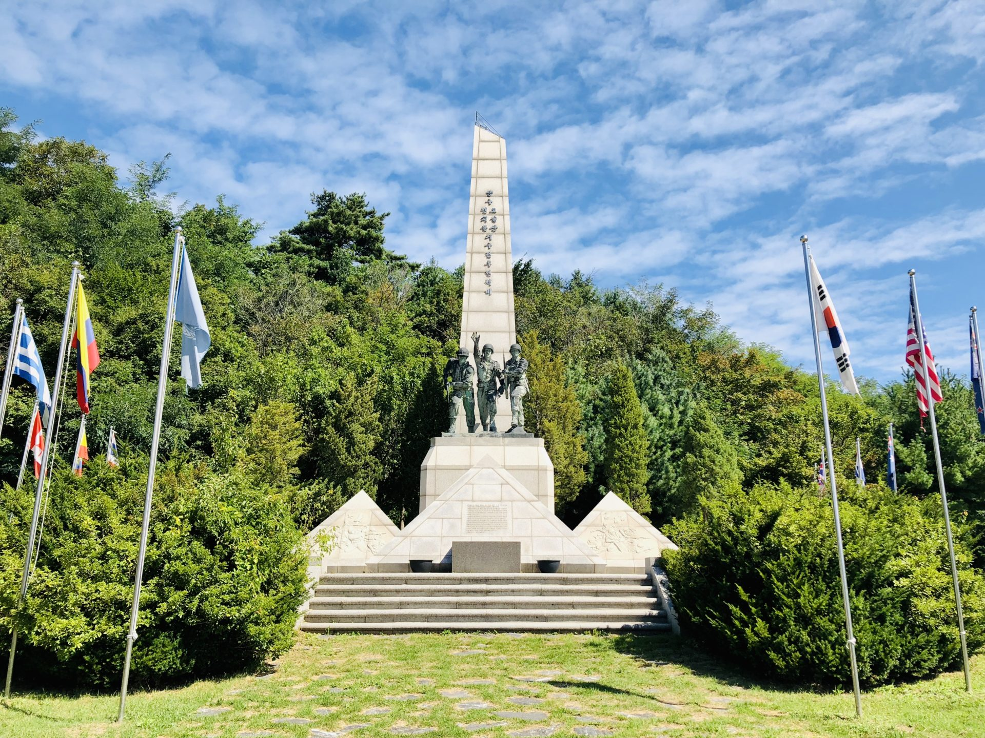 Korean War Memorials - Wolun-ri