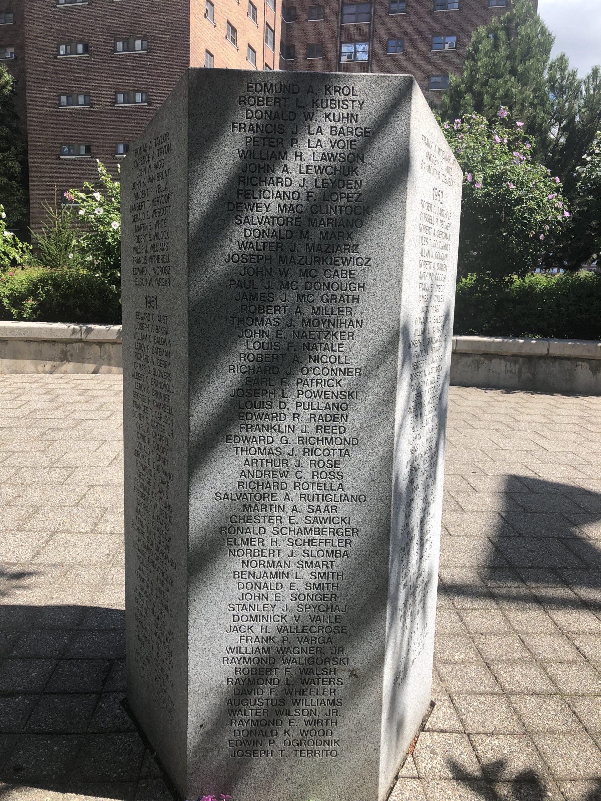 Korean War Memorials - Buffalo
